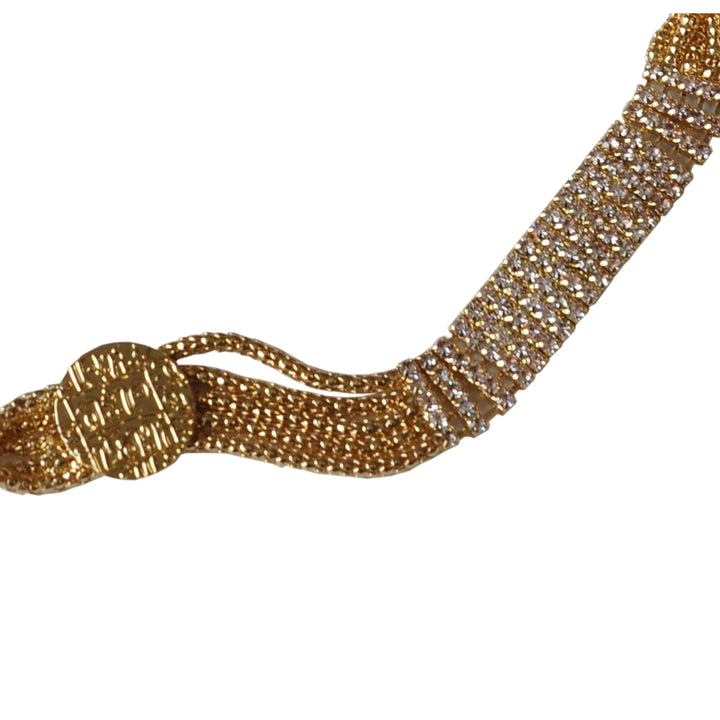 Ashrafee Belt Gold