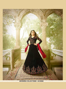 AC53254 - Black Color Georgette Anarkali Suit