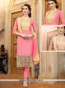 AC55135 - Pink Color Cotton Salwar Kameez