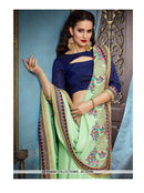 AC55358 - Pista Green Color Silk Georgette Saree