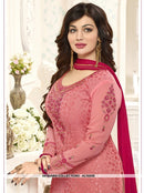 AC55559 - Light Pink Color Brasso Georgette Salwar Kameez