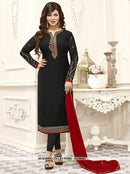 AC55563 - Black Color Brasso Georgette Salwar Kameez