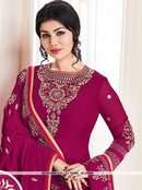 AC55564 - Purple Color Georgette Salwar Kameez