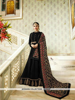 AC56247 - Black Color Georgette Anarkali Suit