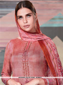 AC66615 - Light Pink Color Crepe Georgette Salwar Kameez