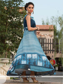 AC66633 - Blue Color Art Silk Gown