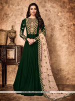 AC69156C - Green Color Georgette Anarkali Suit