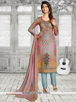 AC69214 - Multi Colour Color Soft Cotton Salwar Kameez