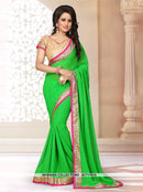 AC71761D - Purple Color Georgette Saree