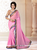 AC71761I - Yellow Color Georgette Saree