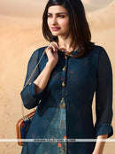 AC75909 - Blue Color Georgette Kurti