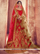 AC77324 - Red Color Art Silk Lehenga Choli