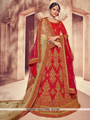 AC77328 - Red Color Art Silk Lehenga Choli