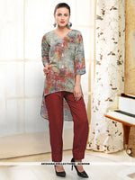 AC80508 - Multi Color Color Rayon Readymade Western Wear