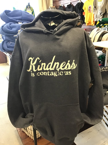 Kindness is contagious adult hoodie