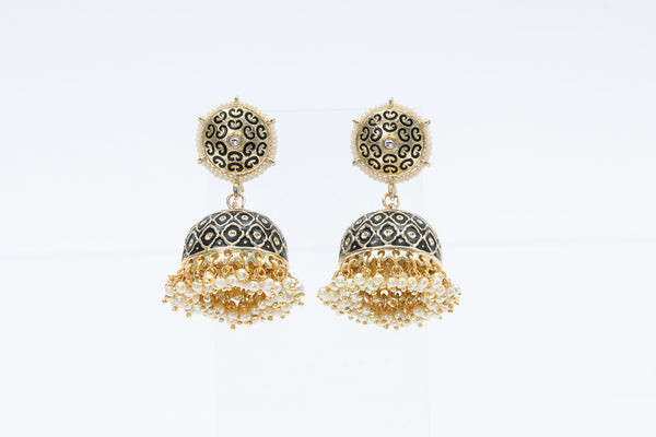Rani Jhumka Earrings