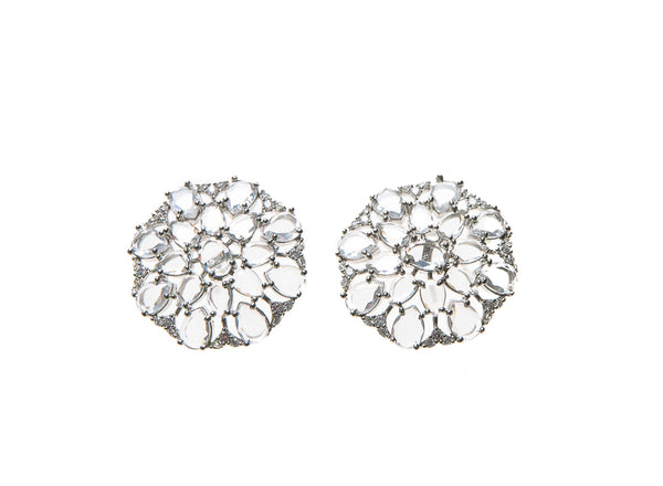Salome Earrings (White Gold)