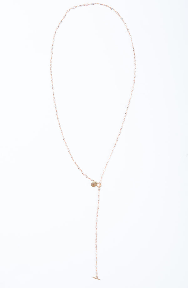 "Delicate necklace with marquise shaped  Swarovski crystals. Length of necklace is 38"". This necklace can be worn long or doubled."