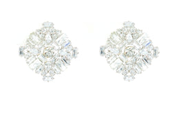 White Gold Shiloh Earrings