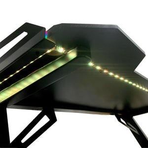 table gaming aerone dragon pro rgb lumiere