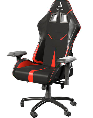 Siège gaming rouge gold series aerone profil