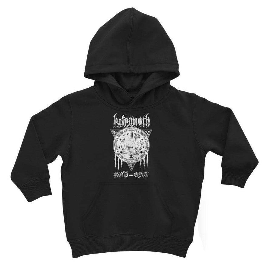 Brutal Kittens Kittymoth God=Cat Kids Hoodie