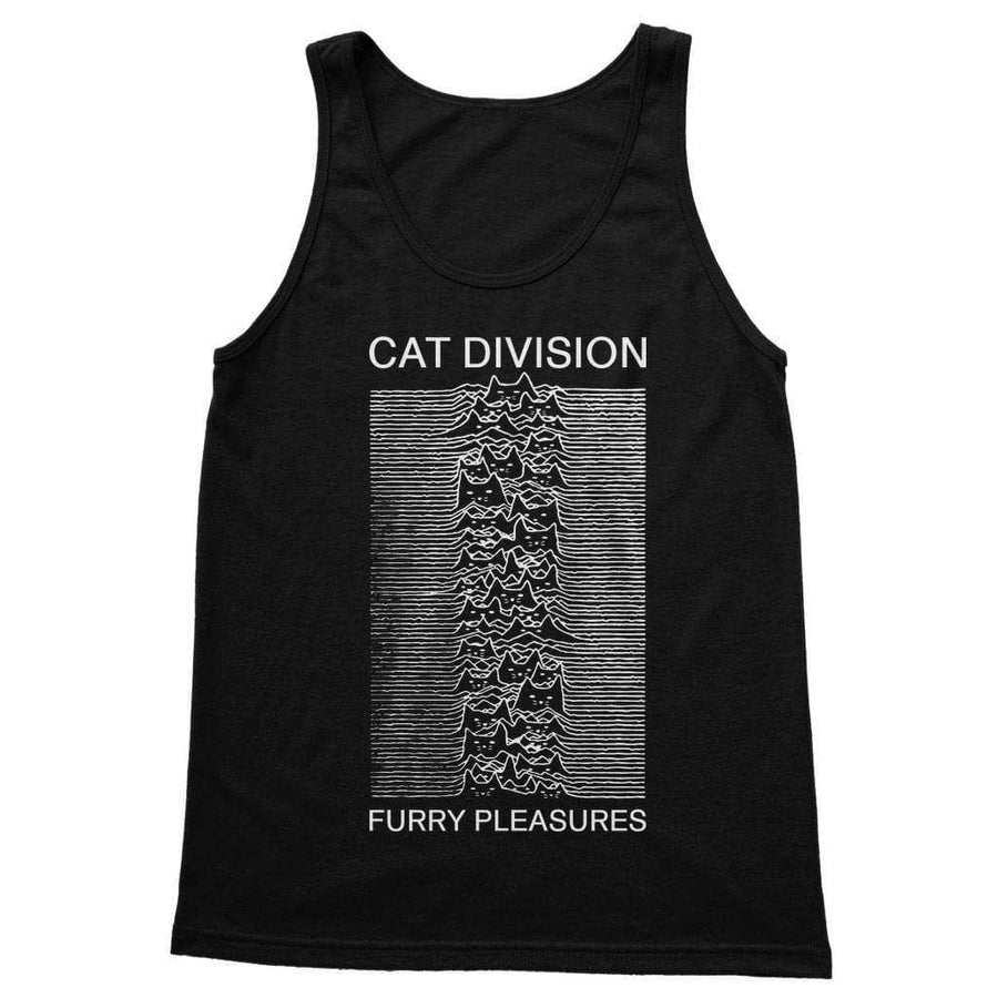 Brutal Kittens Cat Division Unisex Tank Top