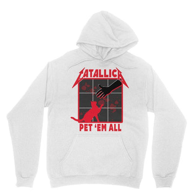 Brutal Kittens Pet 'Em All Unisex Hoodie