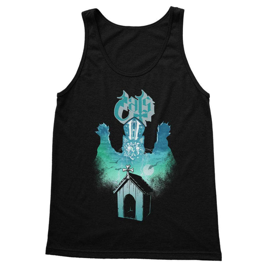 Brutal Kittens Ghost Cat Women's Tank Top
