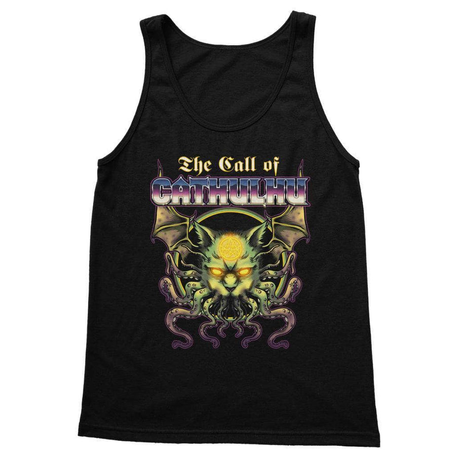 Brutal Kittens Call Of Cathulu Women's Tank Top
