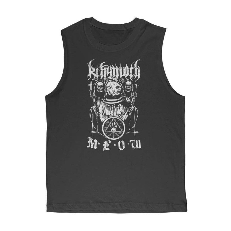 Brutal Kittens Kittymoth MEOW Unisex Muscle Top