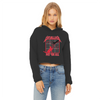 Pet 'Em All Women's Cropped Raw Edge Hoodie