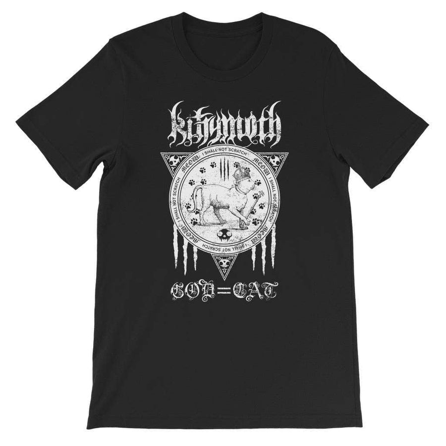 Brutal Kittens Kittymoth God=Cat Kids T-Shirt
