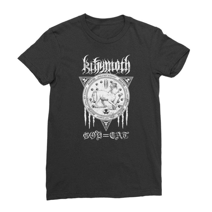 Brutal Kittens Kittymoth God=Cat Women's T-Shirt