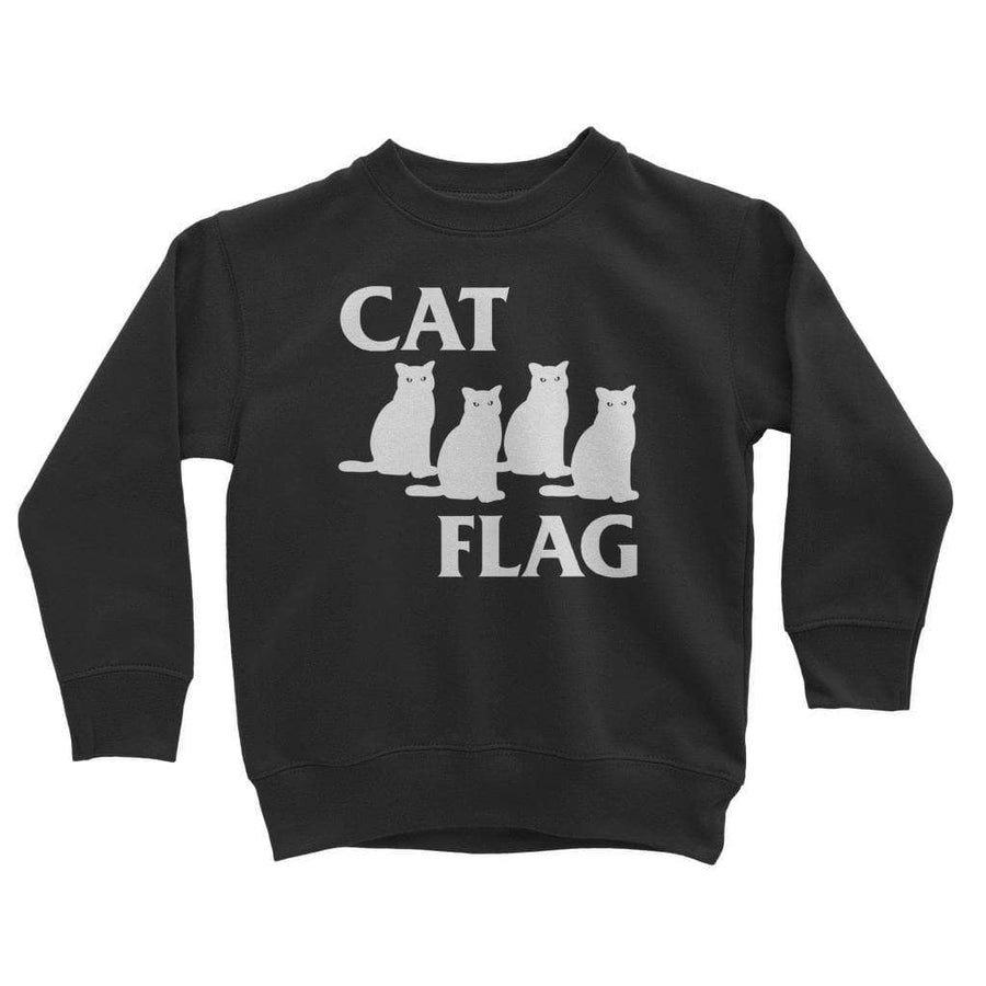 Brutal Kittens Cat Flag Kids Sweatshirt