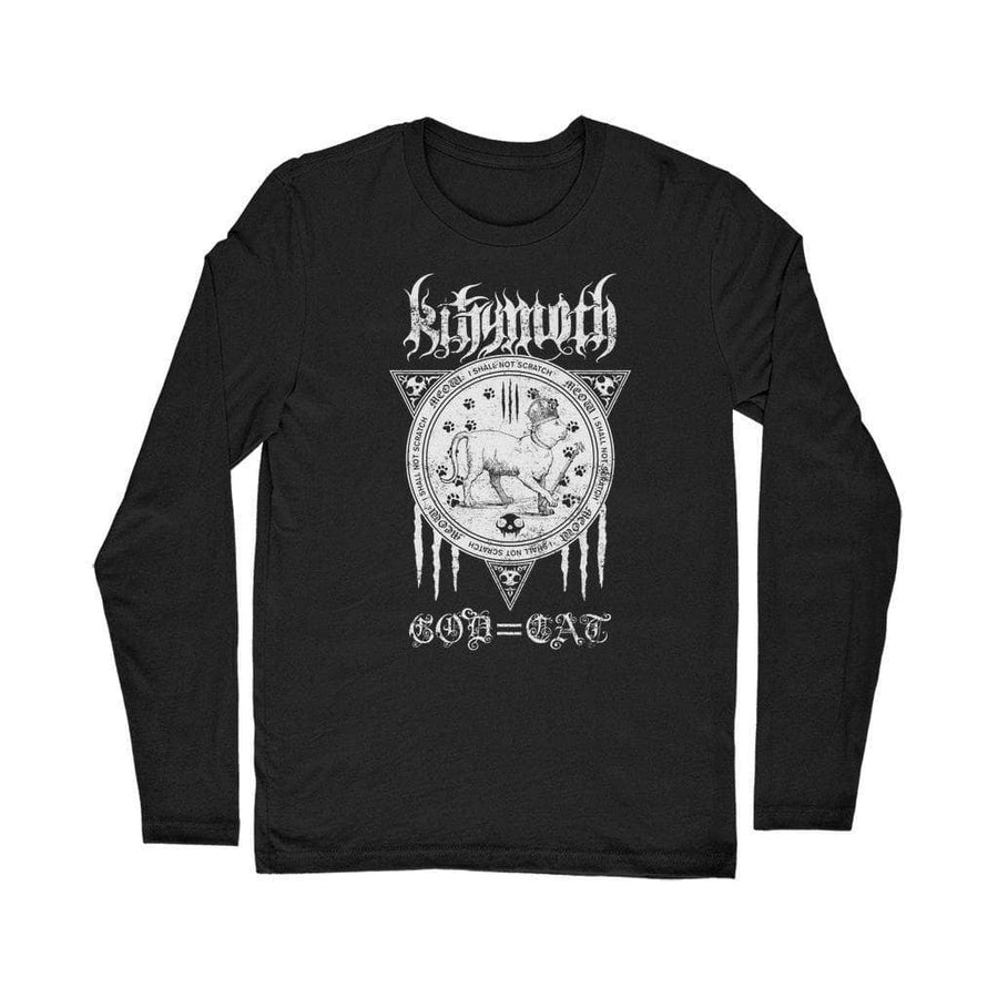 Brutal Kittens Kittymoth God=Cat Classic Long Sleeve T-Shirt