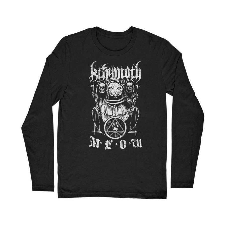Brutal Kittens Kittymoth MEOW Classic Long Sleeve T-Shirt