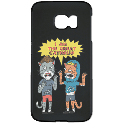 Catholio Phone Case-Apparel-Brutal Kittens