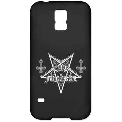 Cat Funeral Phone Case-Apparel-Brutal Kittens