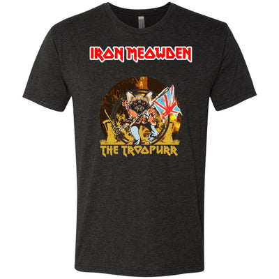 Iron Meowden Troopurr T-Shirt-Apparel-Brutal Kittens