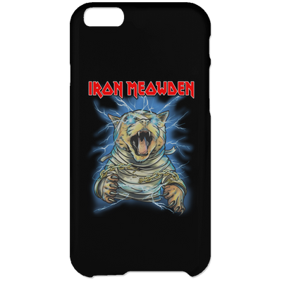 Iron Meowden Pawerslave Phone Case-Apparel-Brutal Kittens