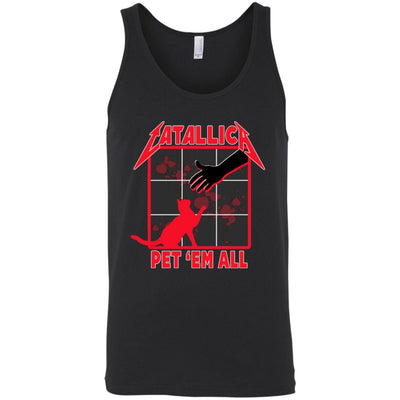 Catallica Pet 'Em All Tank Top-Apparel-Brutal Kittens