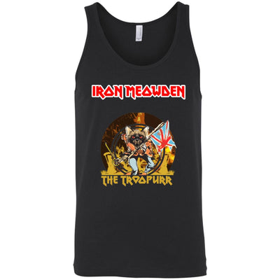 Iron Meowden Troopurr Tank Top-Apparel-Brutal Kittens