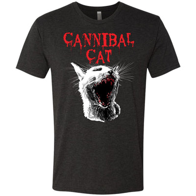 Cannibal Cat T-Shirt-Apparel-Brutal Kittens