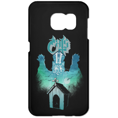 Ghost Cats Phone Case-Apparel-Brutal Kittens