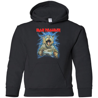 Iron Meowden Pawerslave Kids-Apparel-Brutal Kittens