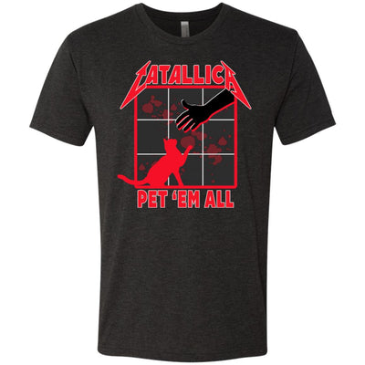 Catallica Pet 'Em All T-Shirt-Apparel-Brutal Kittens