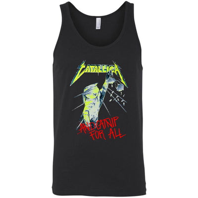 Catallica Catnip For All Tank Top-Apparel-Brutal Kittens