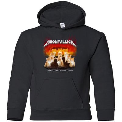 Meowtallica Master Of Kittens Kids-Apparel-Brutal Kittens