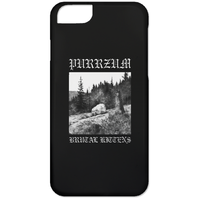 Purrzum Phone Case-Apparel-Brutal Kittens